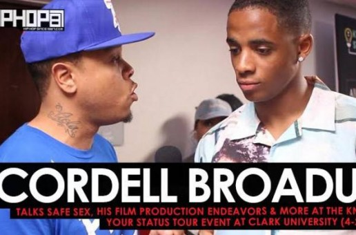 Cordell Broadus Talks Safe Sex, His Film Production Endeavors & More at the Know Your Status Tour Event at Clark University (4-2-17)
