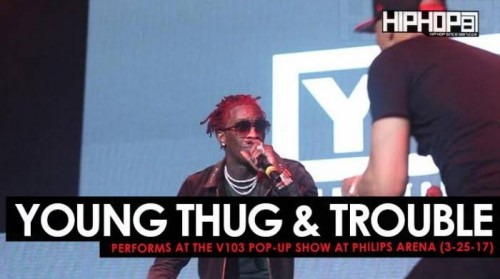 young-thug-500x279 Young Thug & Trouble Perform at the V103 Pop-Up Show at Philips Arena (3-25-17) (Video)