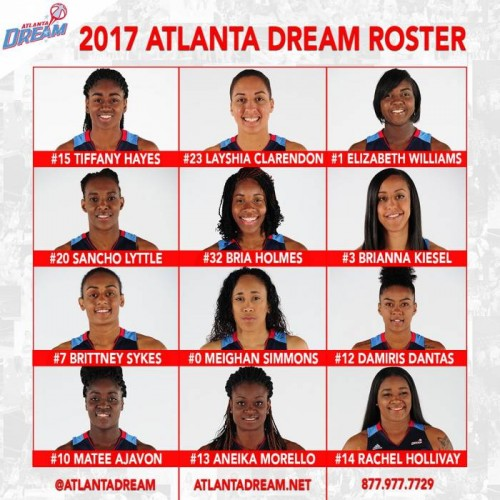 C_pUoOXVoAA35hv-500x500 Run With The Dream: The Atlanta Dream Are Ready to Tip Off Their Historic 10th Season