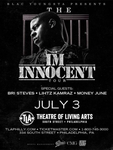 "blac-youngsta-flyer-375x500 Blac Youngsta ""I'm Innocent"" Tour Tickets (Philly Show)"
