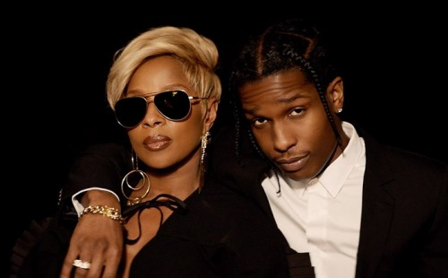 mary-j-blige-asap-rocky-ly-500x310 Mary J Blige - Love Yourself Ft. A$AP Rocky (Video)