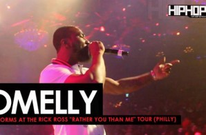 "Omelly Performs at The Rick Ross ""Rather You Than Me"" Tour (Philly)"