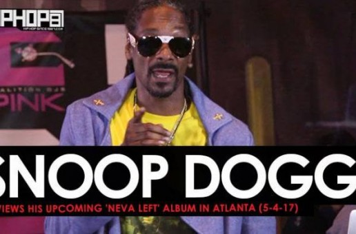Snoop Dogg Previews His Upcoming 'Neva Left' Album in Atlanta (5-4-17) (Video)