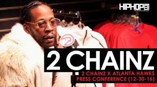 2 Chainz Announces His New Album 'Pretty Girls Like Trap Music' With HHS1987 & the Atlanta Hawks (Throwback Thursday) (Video)