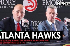 Travis Schlenk Named The Atlanta Hawks New GM (Press Conference) (6-2-17) (Video)