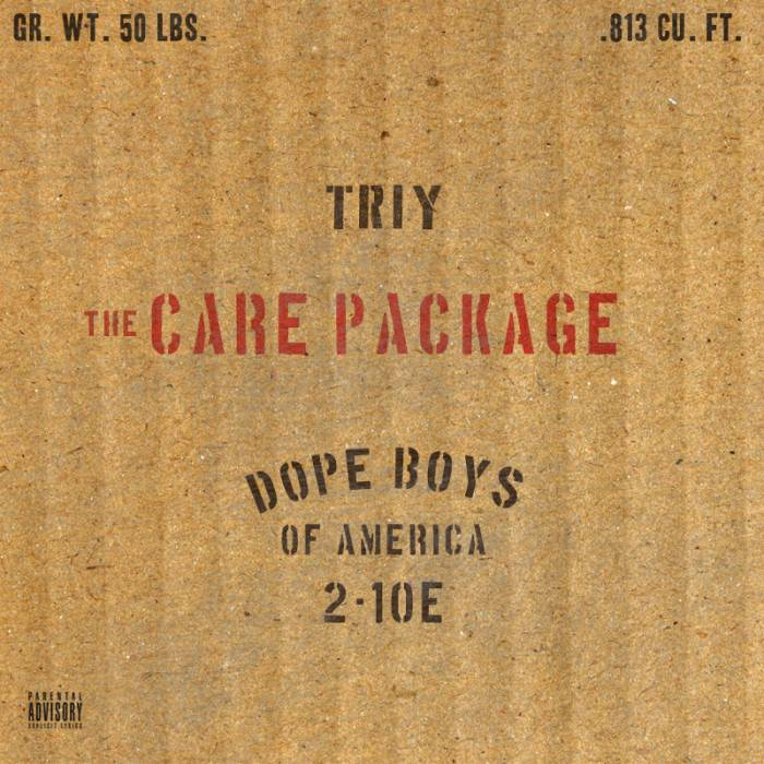 Cover Triy - The Care Package (EP)