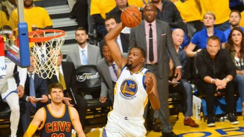 DBSoYWpUAAE_wQY-500x281 NBA Finals: The Warriors Take Game 1 (113-91) vs. the Cavs Thanks To Kevin Durant's 38 Point Explosion (Video)
