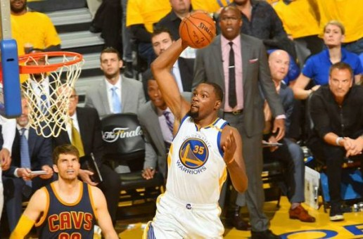 NBA Finals: The Warriors Take Game 1 (113-91) vs. the Cavs Thanks To Kevin Durant's 38 Point Explosion (Video)