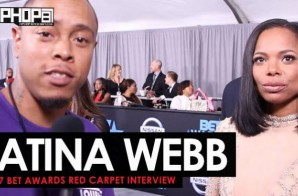 "LaTina Webb Talks 'Prediction Missives', Her New Single ""Red Dress"", Touring, Her Plans For 2017 & More on the 2017 BET Awards Red Carpet with HHS1987 (Video)"