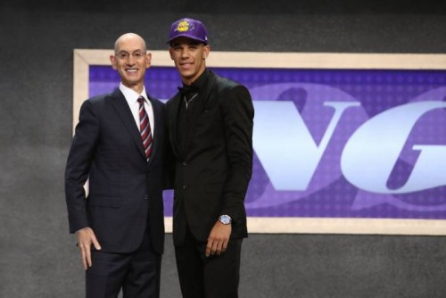 Lonzo-500x334 Ballin In Purple & Gold: The L.A. Lakers Select Lonzo Ball With the 2nd Pick in the 2017 NBA Draft (Video)