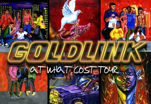 atwhatcosttour-500x347 GoldLink Announces 'At What Cost' Tour