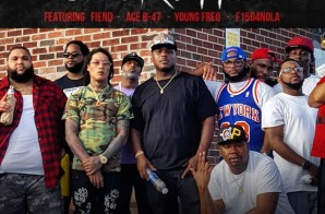 K Smooth – Da Struggle Ft. Fiend, Ace B47, Young Freq & F1504Nola (Video)