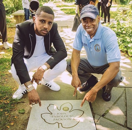 fab-500x491 Fabolous Is Honored With Key To The City Of Brooklyn, Inducted Into Celebrity Path