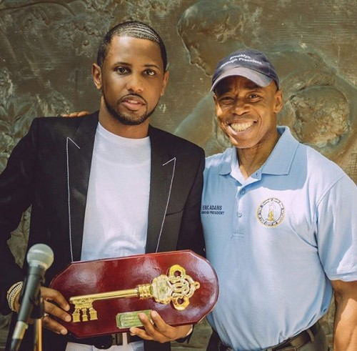 fab1-500x491 Fabolous Is Honored With Key To The City Of Brooklyn, Inducted Into Celebrity Path