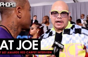 Fat Joe Talks His Upcoming Album, Remy Ma's Success & More on the 2017 BET Awards Red Carpet with HHS1987