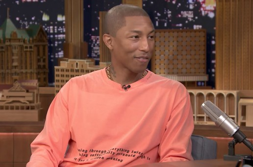 "Pharrell Williams Opens Up About Raising Twins On ""The Tonight Show!"""