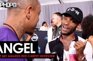 Angel Talks Signing with Motown Records, His Project 'More Of Her', The UK's Music Scene & More on the 2017 BET Awards Red Carpet with HHS1987