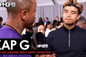 "Kap G Talks His Upcoming ""Super Jefe"" Tour, Making the 2017 XXL Freshman List, His Future 2017 Endeavors & More on the 2017 BET Awards Red Carpet with HHS1987 (Video)"