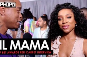 Lil Mama Talks Her Recent Movie Roles, Acting & More on the 2017 BET Awards Red Carpet with HHS1987 (Video)