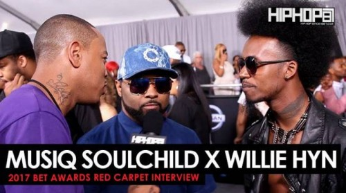 Musiq-500x279 Musiq Soulchild & Wille Hyn Talk their Plans For 2017, Willie Hyn Upcoming Film & More on the 2017 BET Awards Red Carpet with HHS1987