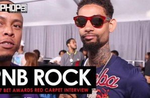 PNB Rock Talks His Upcoming Project 'Catch These Vibes', Making the 2017 XXL Freshman List, His Growth as an Artist & More on the 2017 BET Awards Red Carpet with HHS1987 (Video)