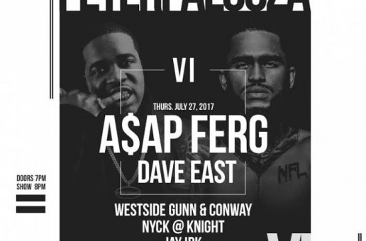 A$AP Ferg & Dave East to Headline Peter Rosenberg's Annual #PeterPalooza in NYC!