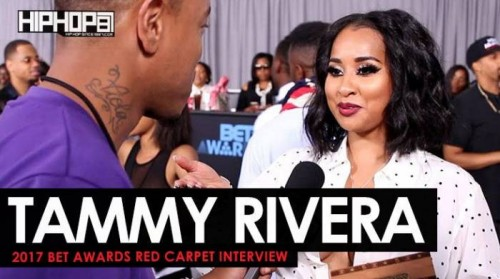 "Tammy-500x279 Tammy Rivera Talks Her New Single ""All The Kisses"", Starring in Tales ""Trap Queen"" Episode, Her Upcoming EP & More on the 2017 BET Awards Red Carpet with HHS1987"