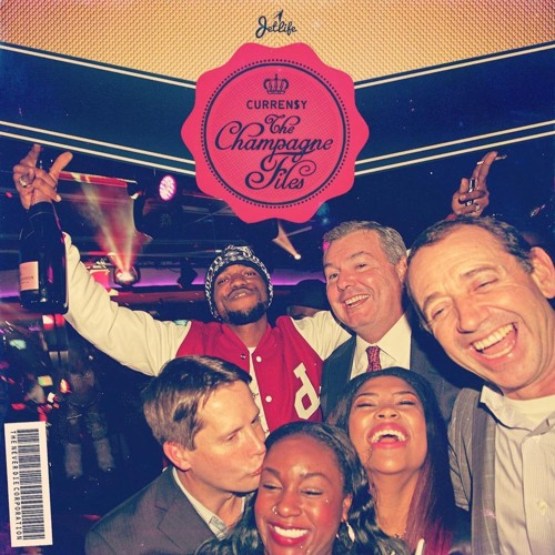 The-Champagne-Files Curren$y - The Champagne Files (Mixtape)