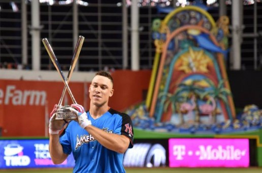 New York Yankees Slugger Aaron Judge Is The 2017 Home Run Derby Champion (Video)