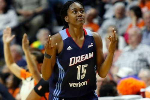 tiffany-500x334 Atlanta Dream Star Tiffany Hayes Voted A 2017 WNBA Eastern Conference All-Star Starter