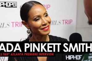 Jada Pinkett Smith Talks The Movie 'Girls Trip' at the Advanced 'Girls Trip' Screening in Atlanta (Video)