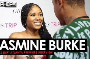 "Jasmine Burke Talks Girl Power, ""Saints And Sinners"" & More at the Advanced 'Girls Trip' Screening in Atlanta (Video)"