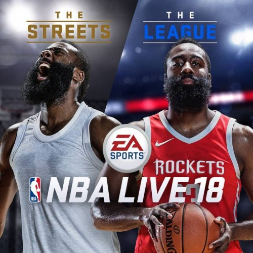 DG58LHjVoAATvC6-500x500 Fear The Beard: Houston Rockets Star James Harden Covers NBA Live 18