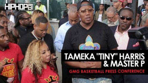 "GMG-basketball-500x279 Tameka ""Tiny"" Harris & Master P Hold the ""GMG Basketball Press Conference"" in Atlanta (Video)"
