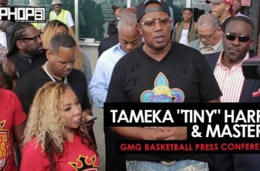 "Tameka ""Tiny"" Harris & Master P Hold the ""GMG Basketball Press Conference"" in Atlanta (Video)"