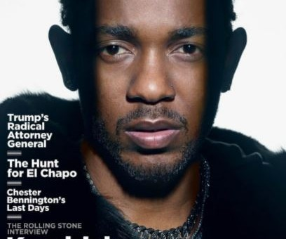 Kendrick Lamar Lands Rolling Stone Cover!