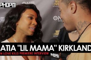 "Niatia ""Lil Mama"" Kirkland Talks Learning the World of Exotic Dancing, The Message She Hopes Women Take From The Film, Exploring More Acting Roles & More at the ""When Love Kills"" Premiere in Atlanta (Video)"