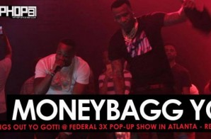"Moneybagg Yo Brings Out Yo Gotti To Perform ""Doin 2 Much"" & ""Rake It Up"" at His ""Federal 3X Pop-Up Show"" (Video)"