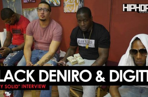"Black Deniro & Digitts ""Stay Solid"" Interview with HipHopSince1987"