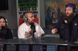 Action Bronson on Running From Bears, Sade, Prodigy & More w/ Ebro in the Morning! (Video)