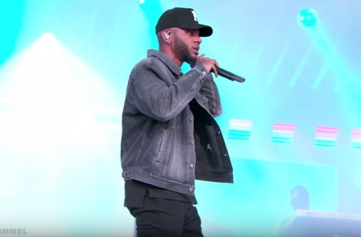 "Bryson Tiller Performs ""Run Me Dry"" on Jimmy Kimmel Live! (Video)"