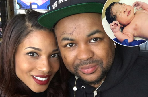 The-Dream Welcomes Daughter Maverick!