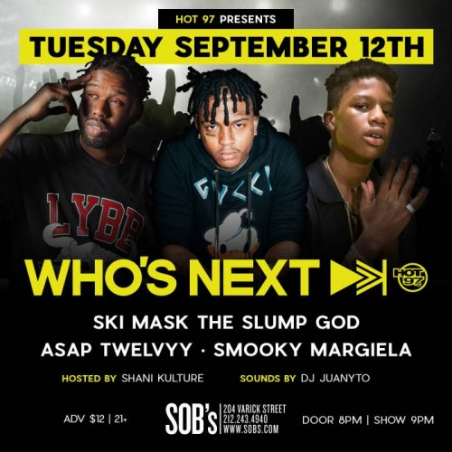 "unnamed-1-8-500x500 Hot 97's Who's Next Live"" w/ Ski Mask, The Slump God, A$AP Twelvvy & Smooky Margiela!"