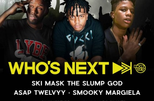 "Hot 97's Who's Next Live"" w/ Ski Mask, The Slump God, A$AP Twelvvy & Smooky Margiela!"