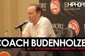 Coach Budenholzer Talks the Hawks 2017-18 Season, the New Look Eastern Conference, the Hawks New Roster & More During 2017-18 Atlanta Hawks Media Day with HHS1987 (Video)