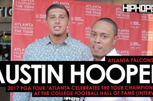 "Atlanta Falcons (TE) Austin Hooper Talks Golf, Week 2 vs. the Packers, His Second Season With The Falcons & More at the 2017 PGA Tour ""Atlanta Celebrates the TOUR Championship"" at the College Football Hall of Fame"
