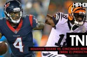 TNF: Houston Texans vs. Cincinnati Bengals (Week 2 Predictions)