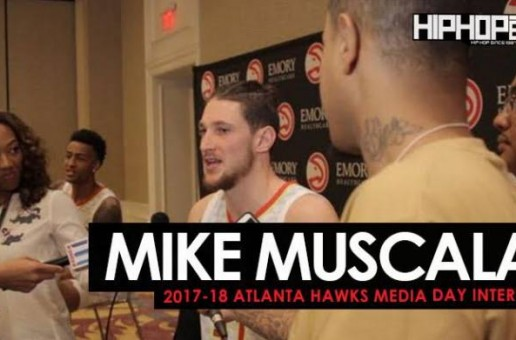 Mike Muscula Talks the 2017-18 NBA Season, Wanting to Record a Single with Taurean Prince & Young Thug, Fashion & More During 2017-18 Atlanta Hawks Media Day with HHS1987 (Video)