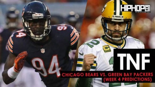 TNF-week-4-500x279 TNF: Chicago Bears vs. Green Bay Packers (Week 4 Predictions)
