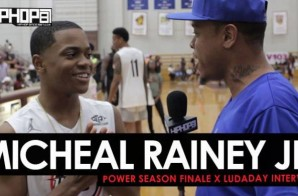 Michael Rainey Jr Gets a Few Buckets, Talks His Character Tariq St. Patrick, His Music Career, Power Season 4 & the Season Finale with HHS1987 (Video)
